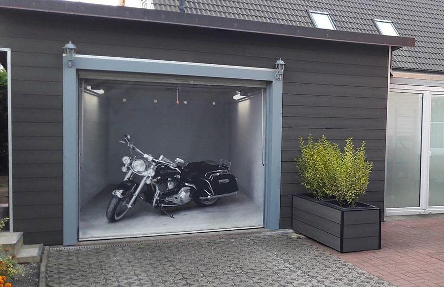 Wandverkleidung Garage : Vorgehängte garagenverkleidung als selbstbausatz