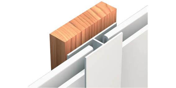 mammut fassadenprofile aus kunststoff in holzoptik. Black Bedroom Furniture Sets. Home Design Ideas