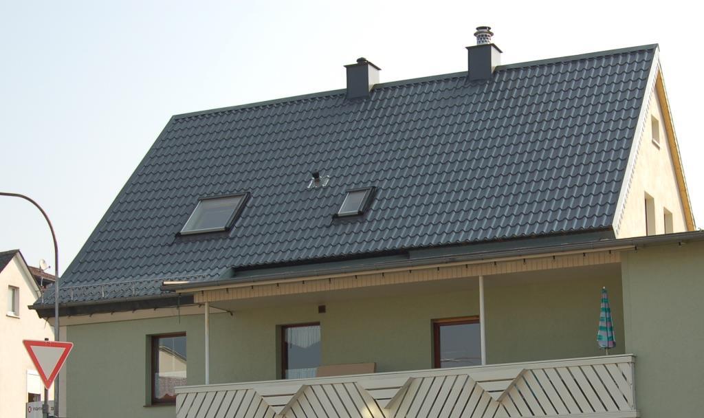 Neu Metalldachpfanne in Ziegeloptik LM-D-TILE - Luxmetall® RB65
