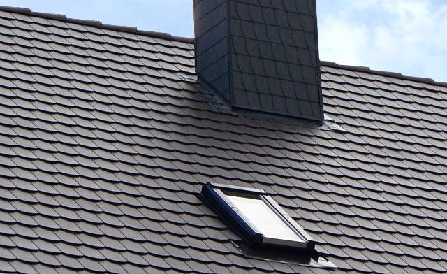 Kunststoffdach In Biberschwanzoptik Dachelemente Aus Kunststoff
