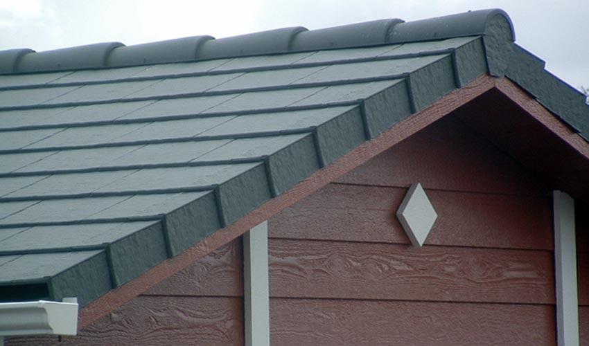 Dachplatten In Schieferoptik Aus Kunststoff Von Zierer
