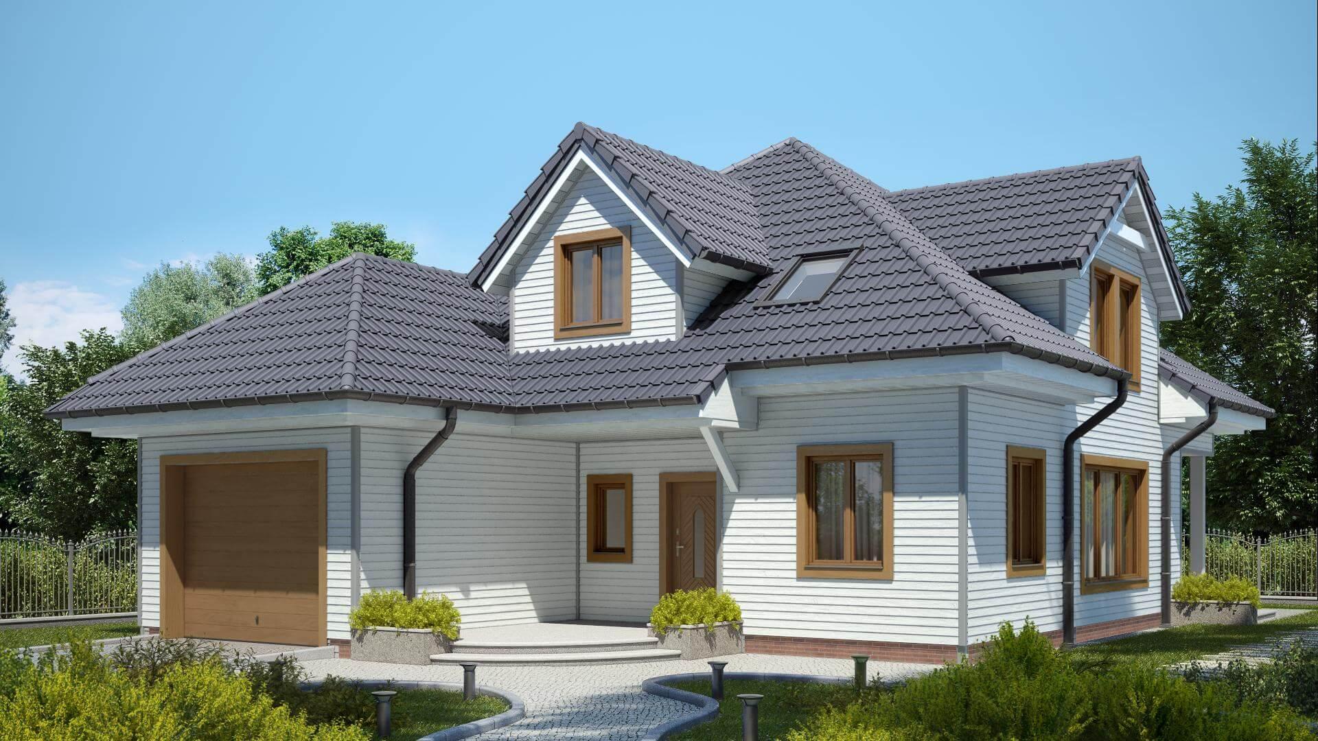 fassade grau wei jetzt auch ohne gerst unsere farbige fassade wir bauen mit avec fassade grau. Black Bedroom Furniture Sets. Home Design Ideas