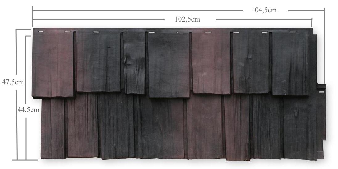 fassadenelement nailite aus kunststoff pvc. Black Bedroom Furniture Sets. Home Design Ideas
