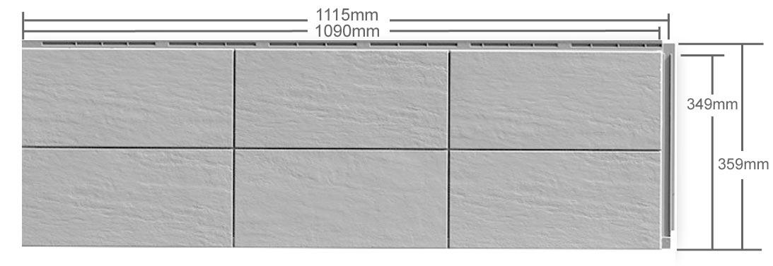 fassadenplatten terra aus kunststoff in keramikoptik. Black Bedroom Furniture Sets. Home Design Ideas