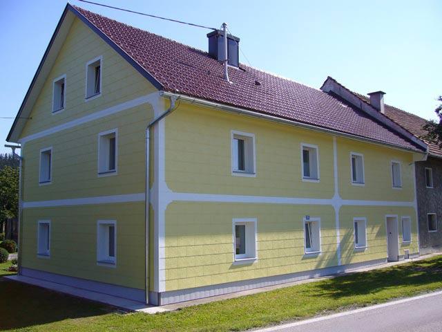 Fassade Gelb verkleidungsplatten struwa aus kunststoff für außenfassaden