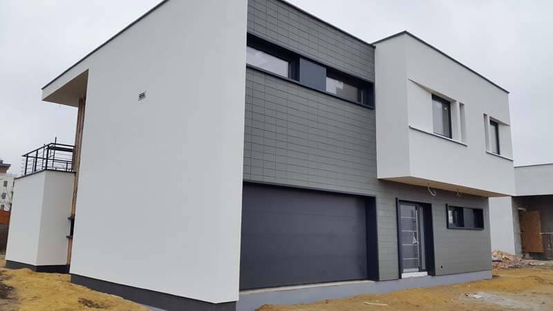 Beliebt Fassadenplatten Terra aus Kunststoff in Keramikoptik JT75