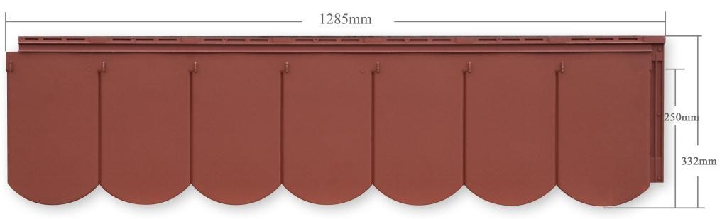 kunststoffdach in biberschwanzoptik dachelemente aus. Black Bedroom Furniture Sets. Home Design Ideas