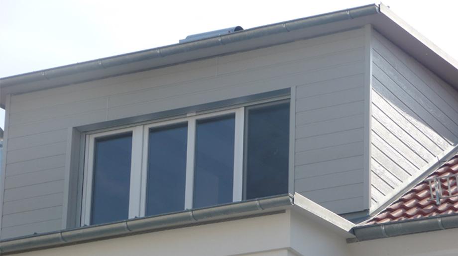 Wandregale und Wand Sideboard in Eiche grau