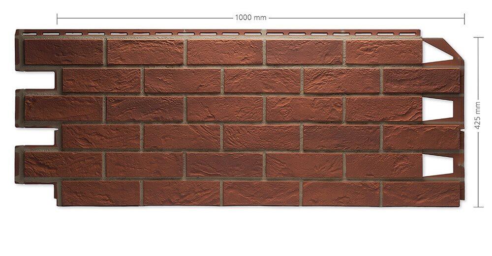 Solid Brick Verblender Klinker Bristol 011
