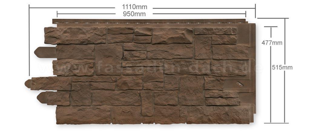 Novistone sk wandverblender in steinoptik for Wandverblender steinoptik