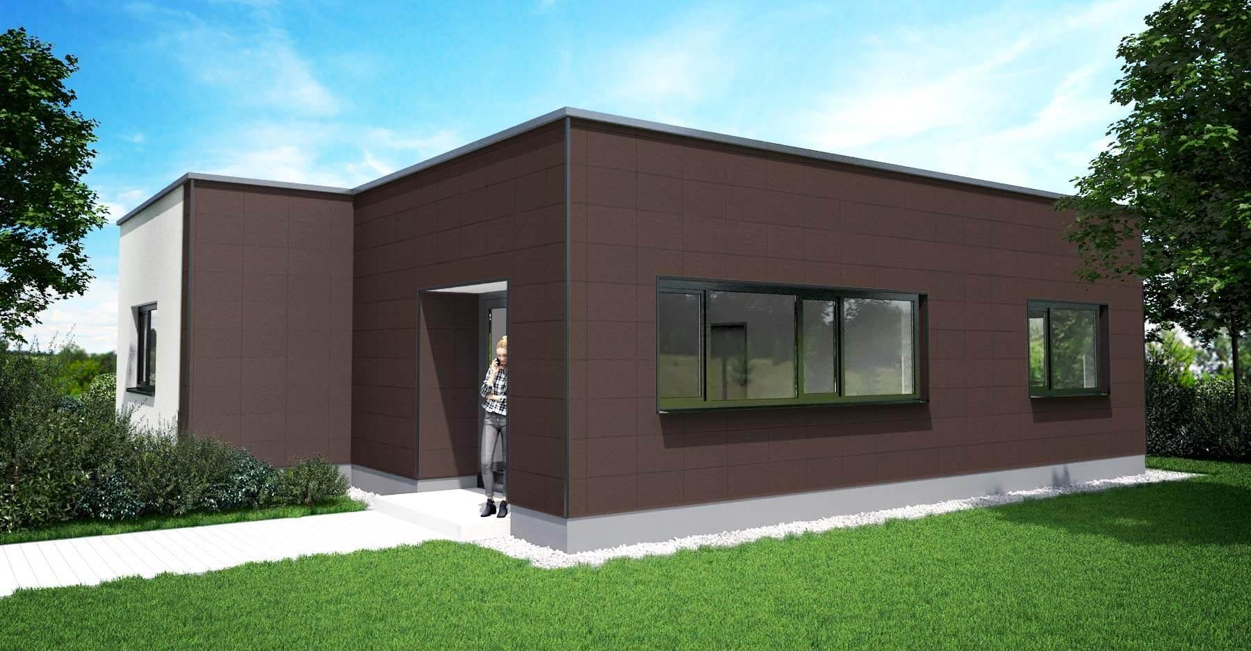 Zierer Fassadenplatten Ss1 Aus Kunststoff In Schiefer Optik