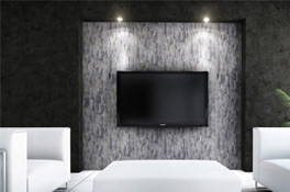 wandverkleidungen im wohnzimmer selber bauen. Black Bedroom Furniture Sets. Home Design Ideas