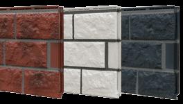 fassadenplatte aus kunststoff in natursteinoptik. Black Bedroom Furniture Sets. Home Design Ideas