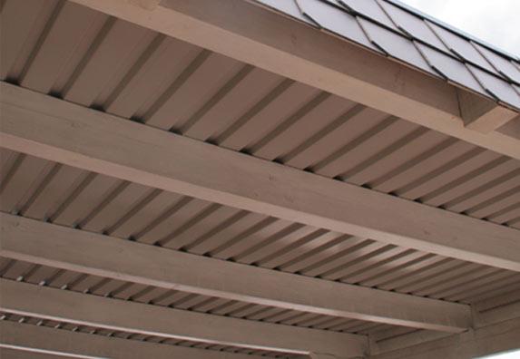 Dacheindeckung Carport