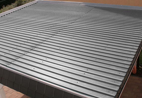 Carportdach - Dacheindeckung Carport