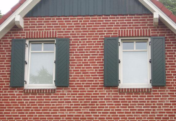 Wartungsarme fensterl den selber bauen - Fensterladen mit lamellen selber bauen ...