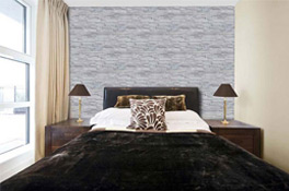 High Quality Wandverkleidung Schlafzimmer Steinimitat Awesome Ideas